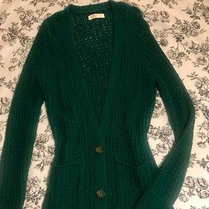 Evergreen Wool Cardigan by HCO